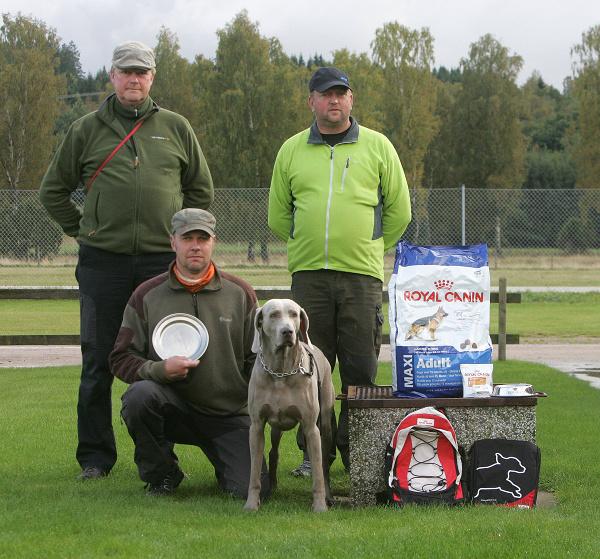 Eftersöksmästare vid KM 2012